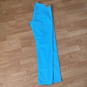Blue Abercrombie and Fitch pants